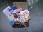 Sewing Basket Decorated - AMW