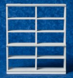 Bakery Shelf - Medium White Wooden Shelf