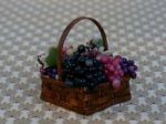 Hope Elliott's Square Basket with Grapes