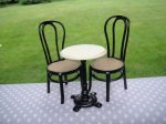Bistro Table and Chairs Set - 3 Pc.