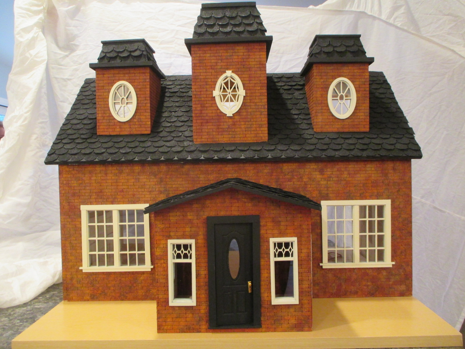 "Country Manor Hand Painted Brick ~ 1"" Scale"