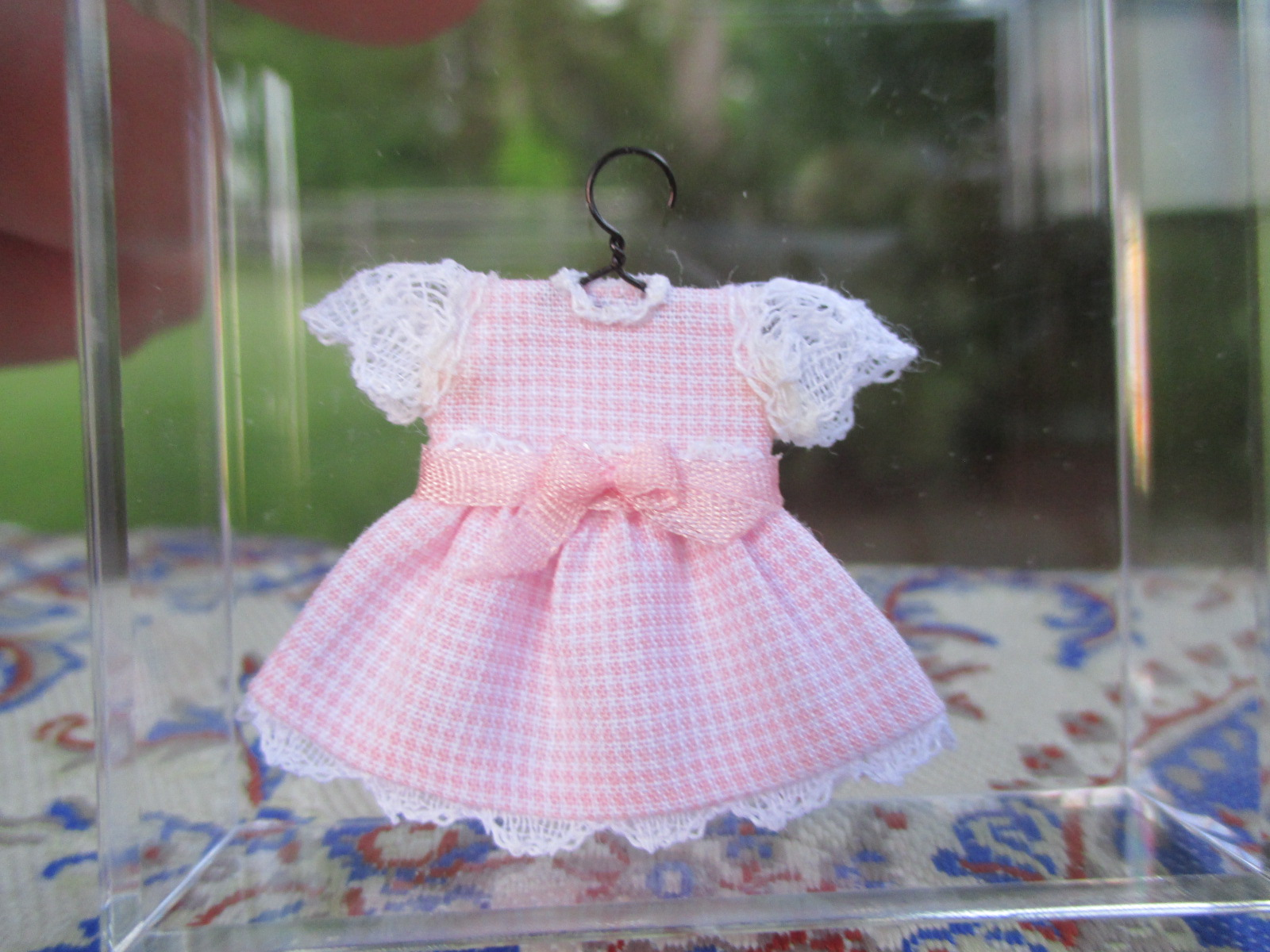 Cheryl Warder - Little Girl's Pink Gingham Dress