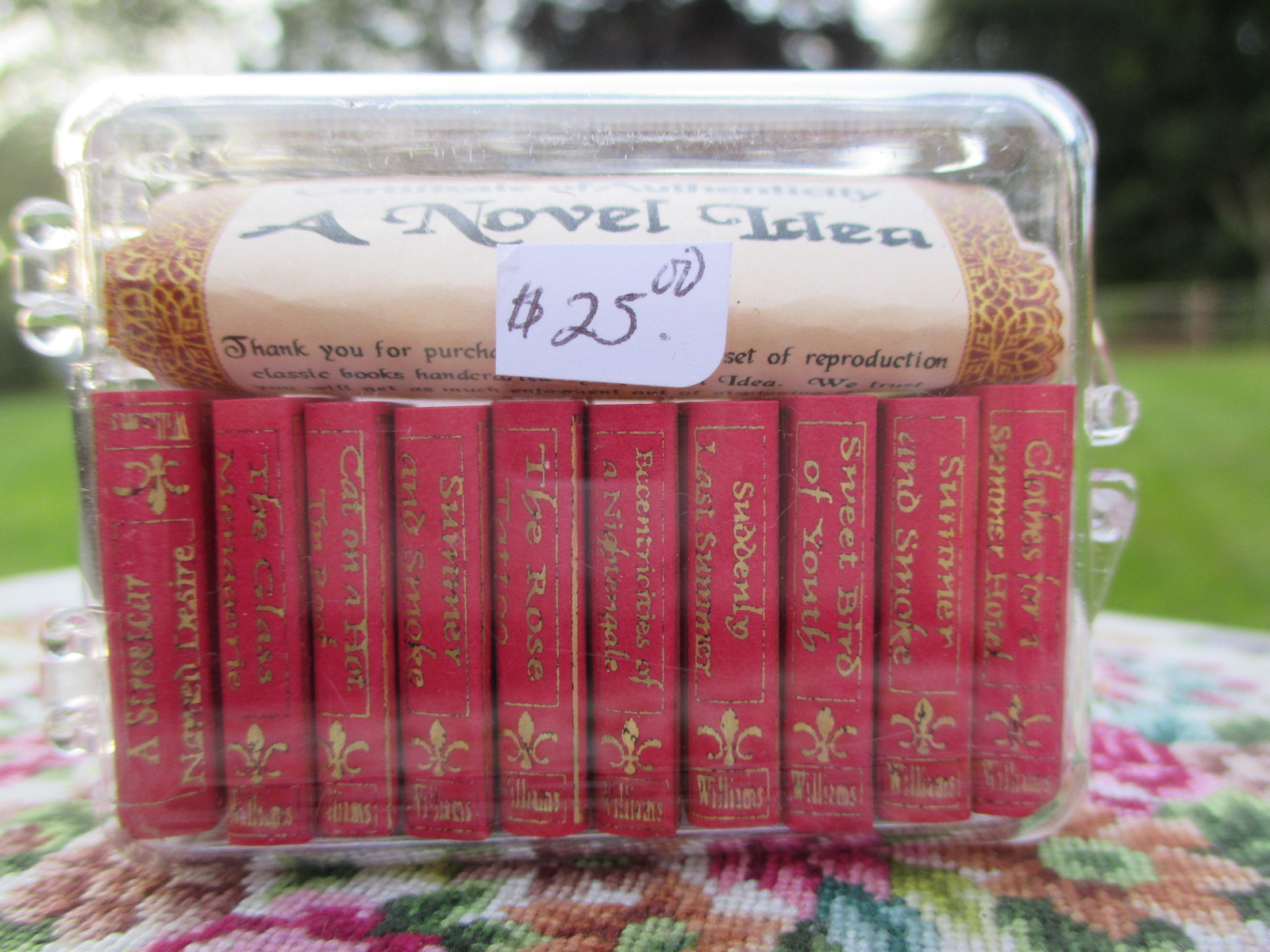 A Novel Idea Boxed Book Set of 10 by Tennessee Williams