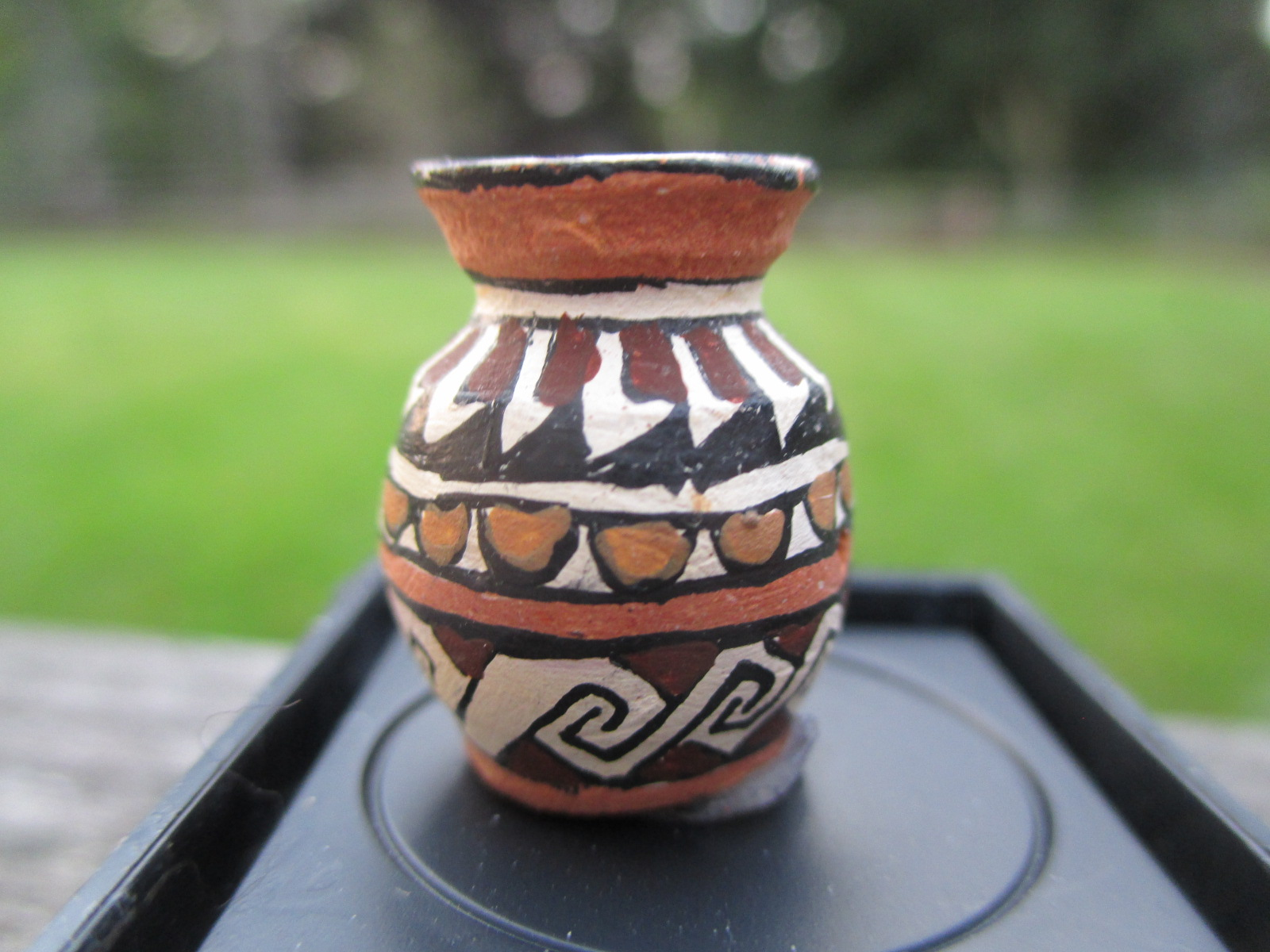 Gloria Bogulas 1986 Pottery Vase Native American Decor