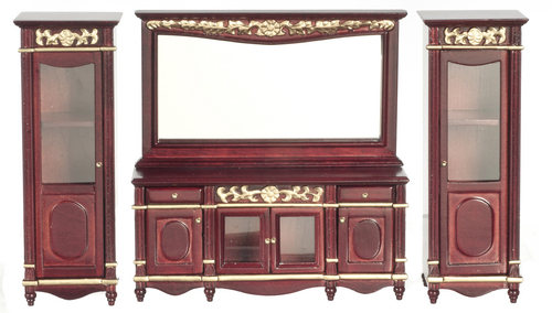 Buffet Table with Mirror - t3515