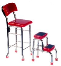 Step Stool - Red