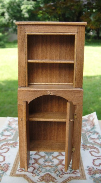 Oak Colonial Cabinet by Barb Hill