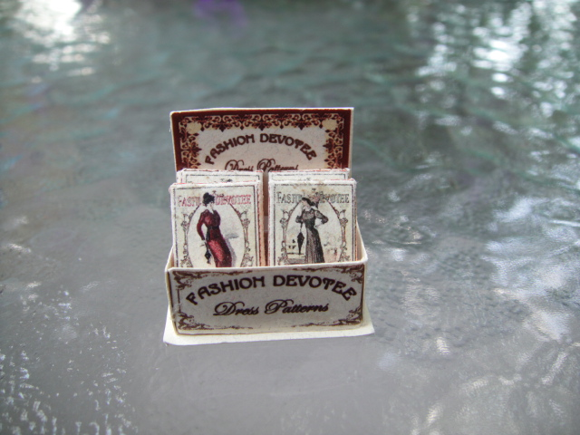 Victorian Dress Patterns in Display Box