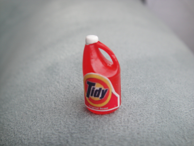 Bottle of Tidy Laundry Detergent