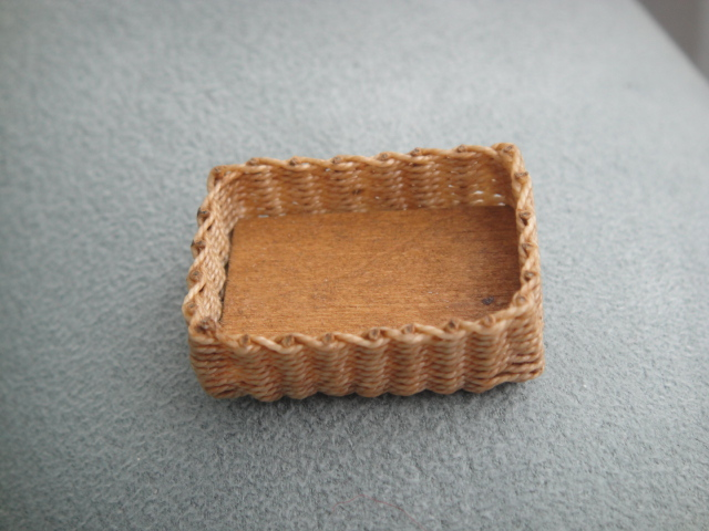 Small Wicker Rectangle Basket